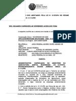 Parecer - Reenquadramento Dos Anistiados Para RJU - Timbrado