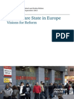 2015 Welfare State for Europe_vision for Reform - Chatham House (Iain Begg & Fabian Mushövel)