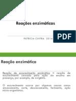 Aula Reaço Enzimc3a1tica 2014