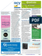 Pharmacy Daily for Tue 13 Oct 2015 - Medication reviews, eRx value, India strike, NZ pharmacy review, biosimilars and much more