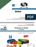 CAMPAÑA (3 Abril al 1 Julio) Global (Prensa+Radio+Televisión+Internet)