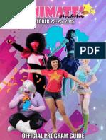 2015 Animate Miami Program Guide