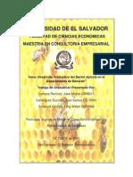 Tesis de proyecto de miel de abejas