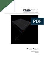 Carport Addition ETABS Report