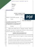 WAINWRIGHT v. ACE AMERICAN INSURANCE COMPANY et al complaint