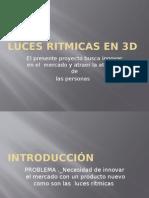 Luces Ritmicas en 3d
