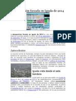 Desaparición Forzada en Iguala de 2014