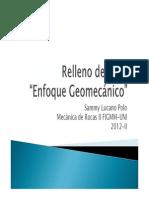 Relleno de Mina UG_Enfoque_Geomecanico