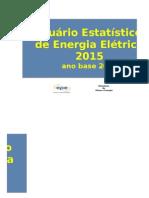 Anuário EstatAnuário Estatístico de Energia Elétrica 2015