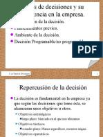 Sistema de Toma de Decisiones 1