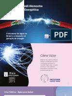 Cilene Victor - A Escassez de Água No Brasil e o Impacto Na Geração de Energia