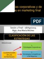 estrategias corporativas y de negocios de marketing