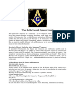 What Do the Masonic Symbols Mean?