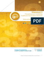 Safety and Quality Improvement Guide Standard 3 Preventing and Controlling Healthcare Associated Infections October 2012