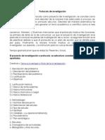 Protocolo de Investigación Estructura
