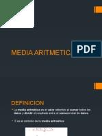 Aritmetica Media
