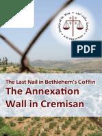 Relatório Cremisan - Set 2015