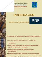 Investigacion Epidemiologia