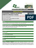 Folder - Avaliacoes e Pericias Em Imoveis Publicos - 13 a 17out2014