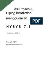 Modul HYSYS 3-2 Mech Eng Tambahan - Piping