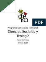 Programa Pablo Contreras- CT Sociales y Teología 2016