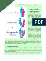 El Matrimonio, El Divórcio y Lãs Segundas Núpcias