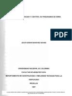 manaual de Programacion y Control de Obra