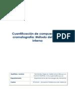 Método Patrón Interno Cuantificación
