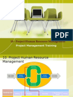 09 Project human resource management