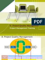 08 Project quality management