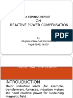 reactivepowercompensationbyprajnyapriyadarshinimishra-121126042602-phpapp01
