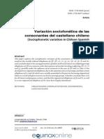 Sadowsky 2015 Variacion Sociofonetica Consonantes