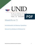 Manual Windows Server 2008