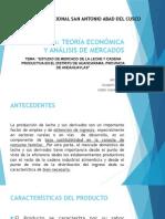 Estudio de Mercado de La Leche