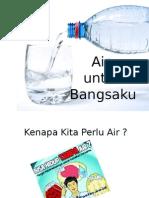 Air Untuk Indonesiaku