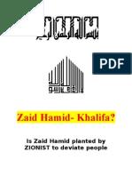 Zaid Hamid - Khalifa?