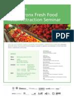 SoBRO Food Retail Attraction Seminar