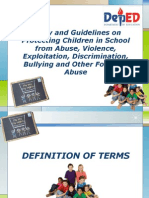DEPED Child Protection Policy