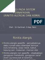Alergi Pada Sistem Pernafasan (Asma)
