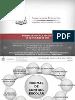 Presentación 2 Normas de Control Escolar POR CAPITULO