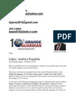 Jose Lopez - América Española