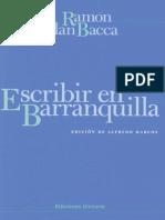 Escribir en Barranquilla 6 - Ramón Illán Bacca