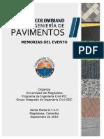 XX Simposio Colombiano Sobre Ingeniería de Pavimentos - Memorias