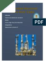 Columnas de Destilación de Etanol