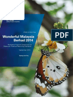 Wonderful Malaysia Berhad - Illustrative Financial Statements 2014
