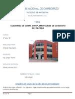 Cuaderno de Concreto Cg