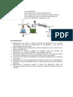 Proceso de Destilación Por Arrastre de Vapor