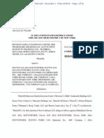 Beyonce Knowles-Carter et al v. Eleven LLC complaint.pdf