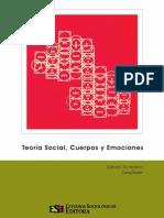 Teoría Social, Cuerpos Emociones