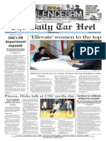 The Daily Tar Heel for Oct. 13, 2015